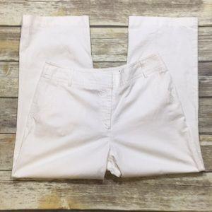 Linen Blend Crop Pants